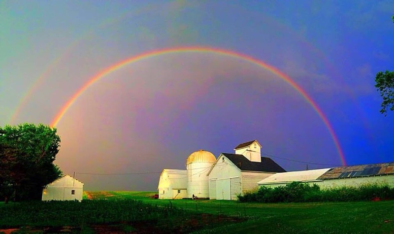 Double Rainbow - Iowa